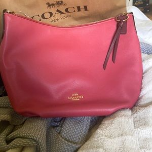 COACH bag w/ matching clutch NWT